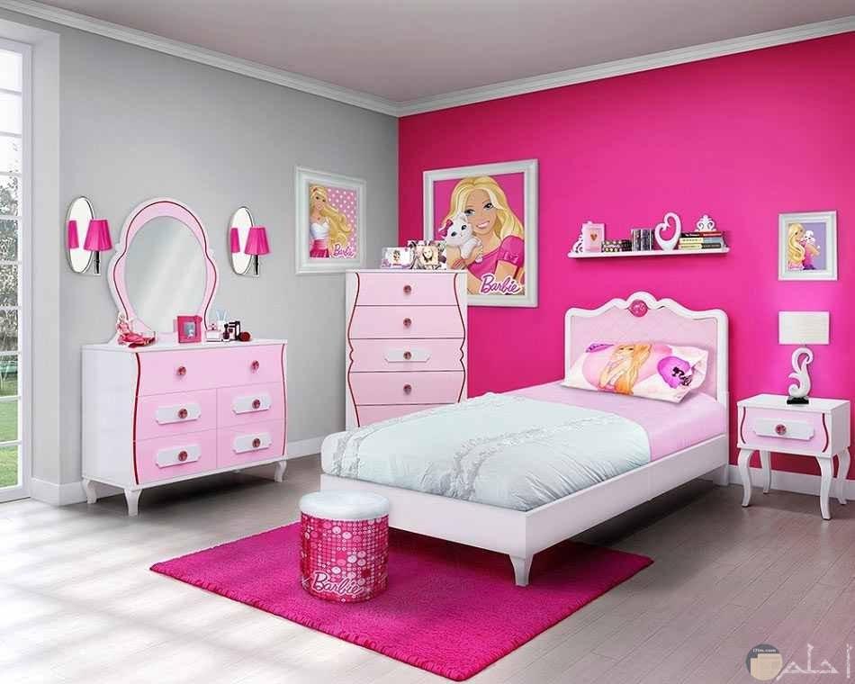 صورة غرفة بنت مودرن روز