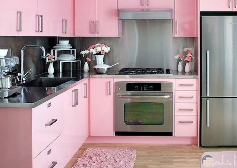 مطبخ زهري رائع