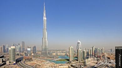 برج خليفة في دبي.