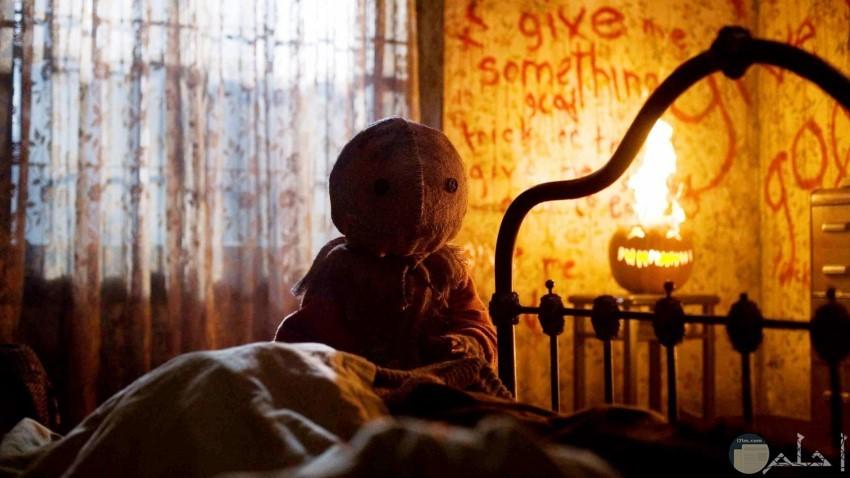 وحش مخيف في الظلام