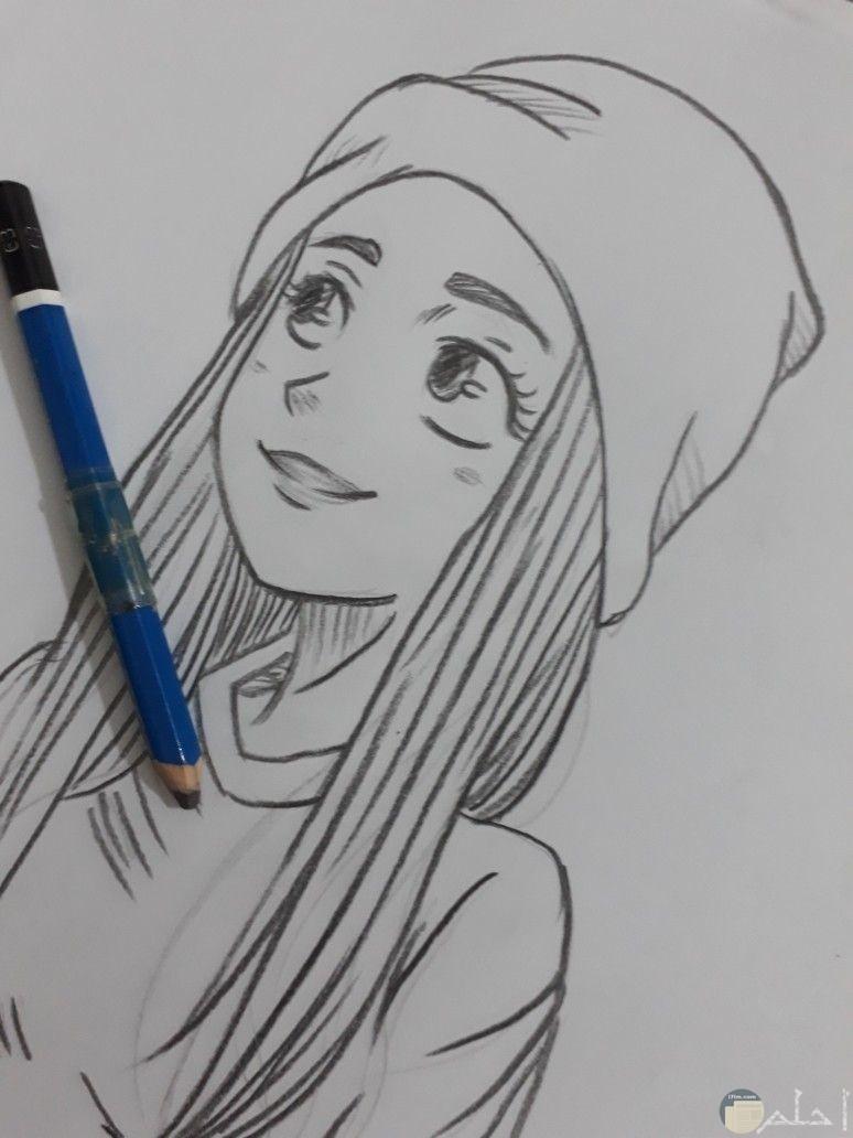 اجمل صور رسم انمي جميلة