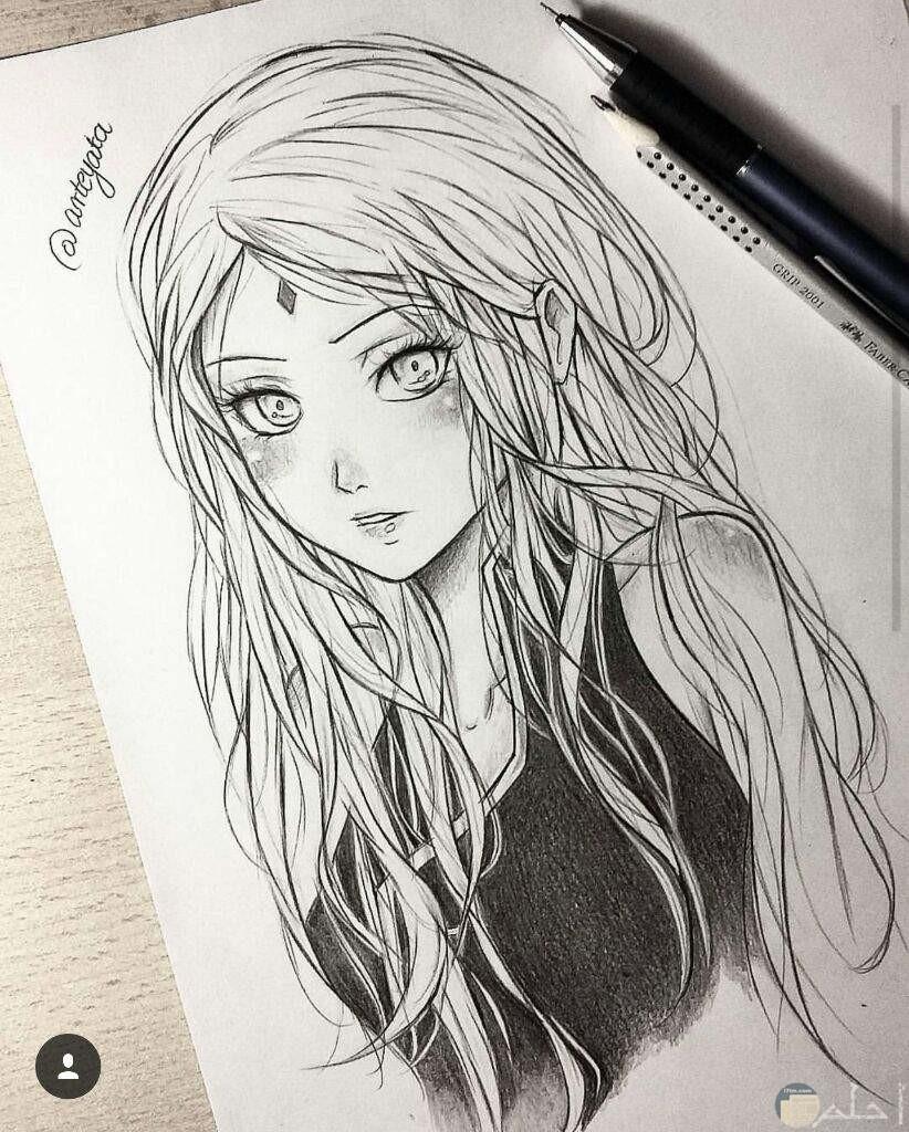 صورة رسم رقيقة من انمي