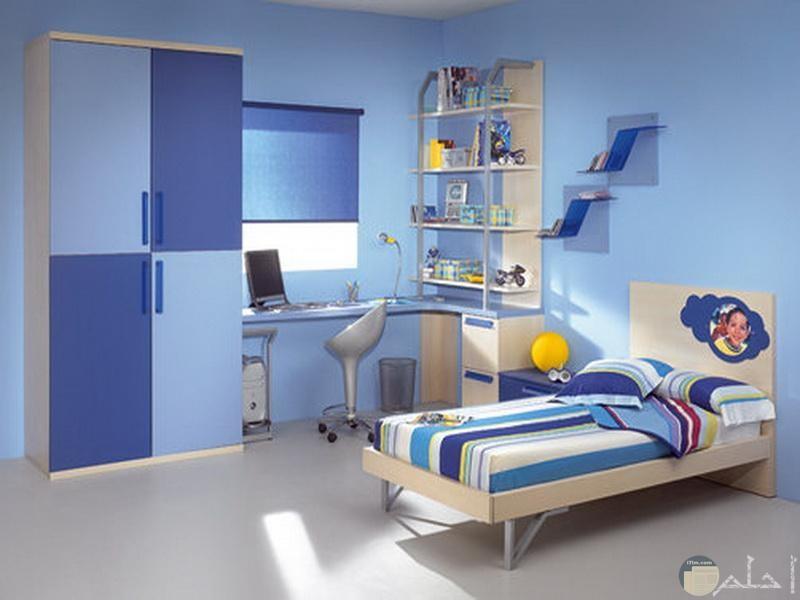 صورة غرفة ولد مودرن سماوي