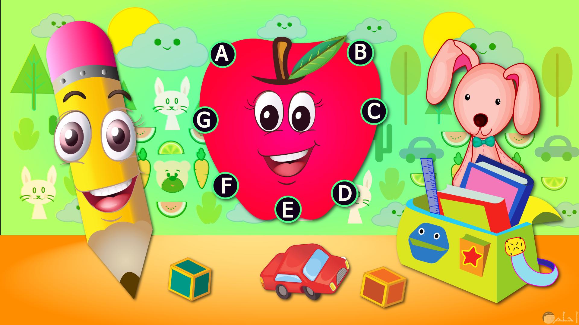 ABC للأطفال