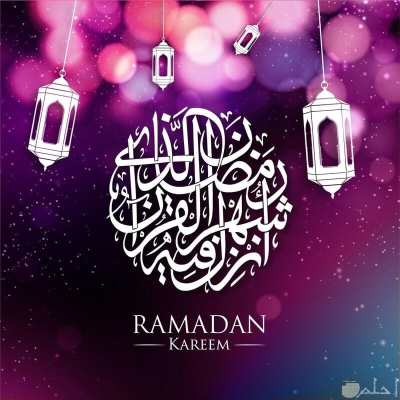 خلفيات شهر رمضان فوانيس ودعاء