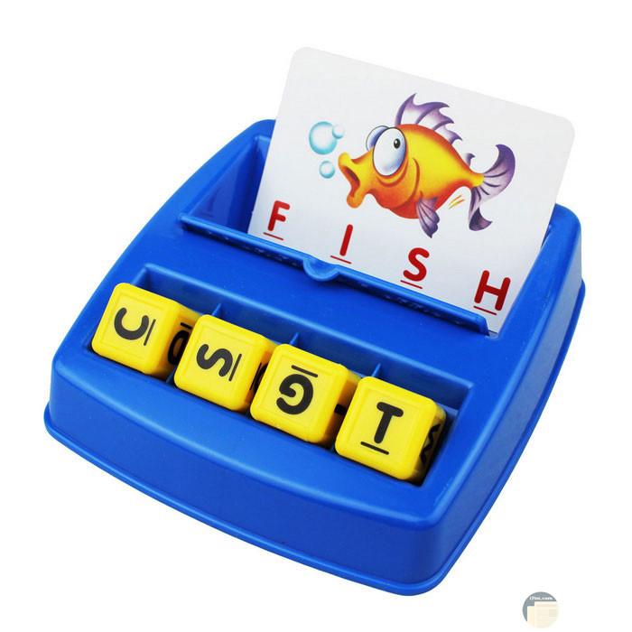 لعب حروف كلمة سمكة