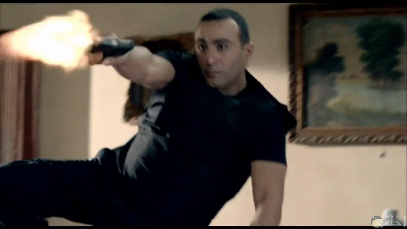 مشهد أكشن - أحمد السقا.