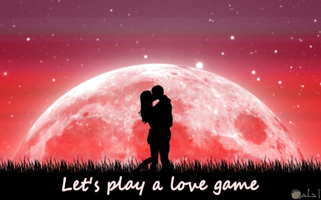 خلفية رومانسية انمي وكلام حب رومانسي