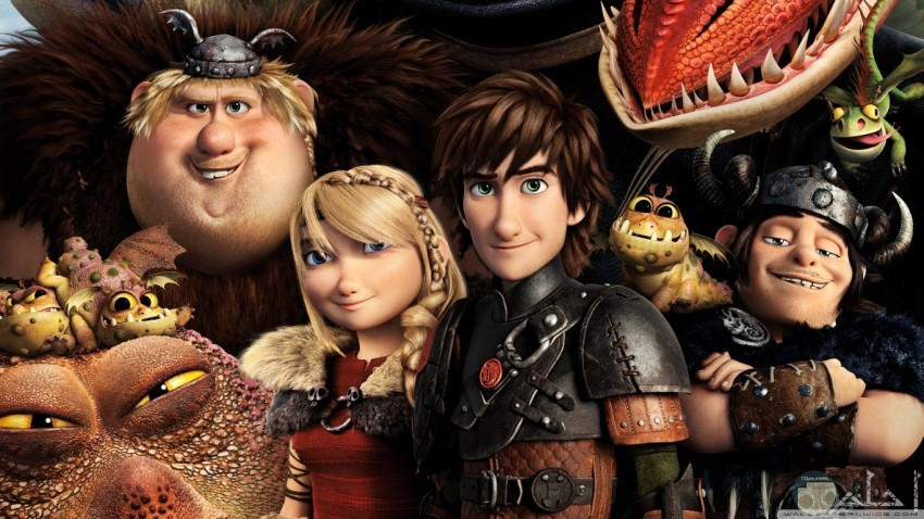how to train your dragon فيلم مشوق رائع
