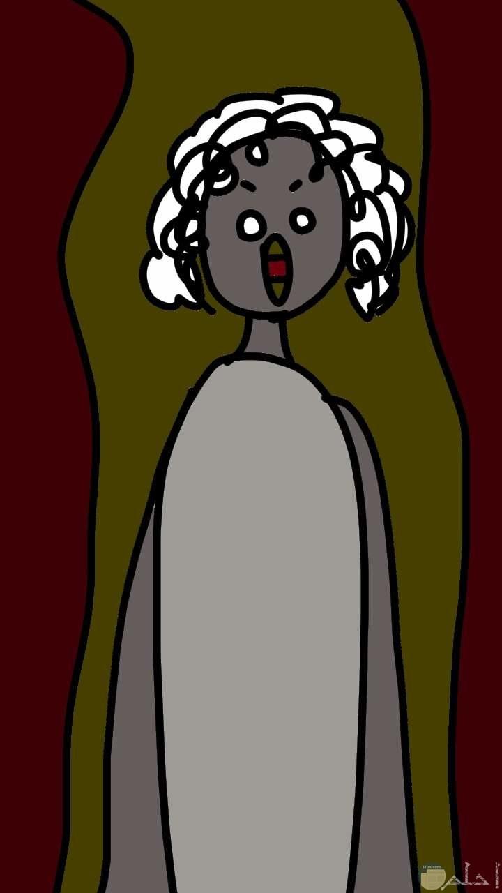 رسمة للعفريتة أنجلين التي تتحول إلى حيوانات متوحشة.