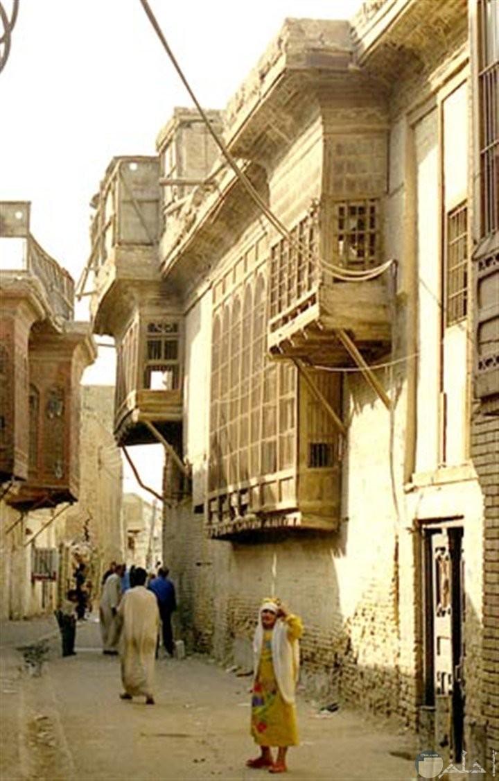 بيوت في بغداد - العراق.