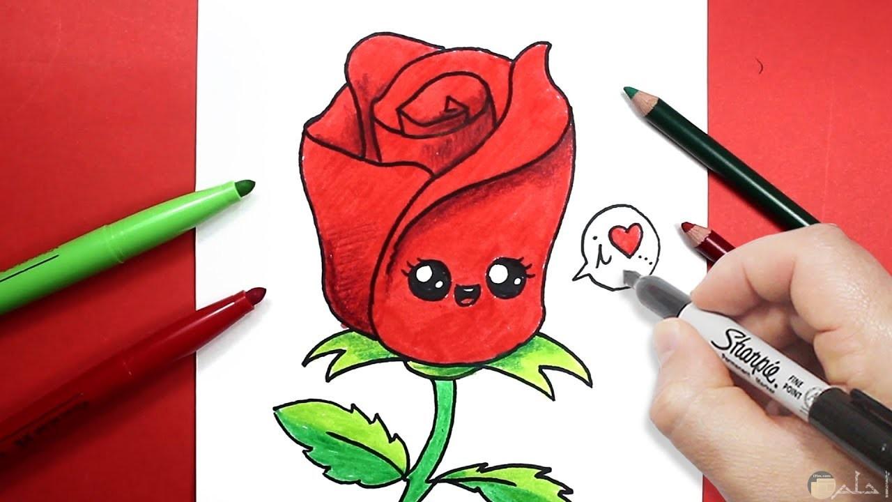 وردة رومانسية رقيقة ولذيذة للعشاق