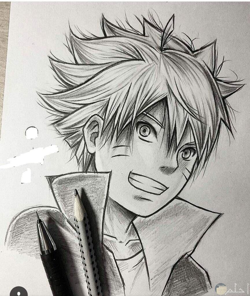 رسم كرتون انمي ولد من أبطال حلقات الكرتون.