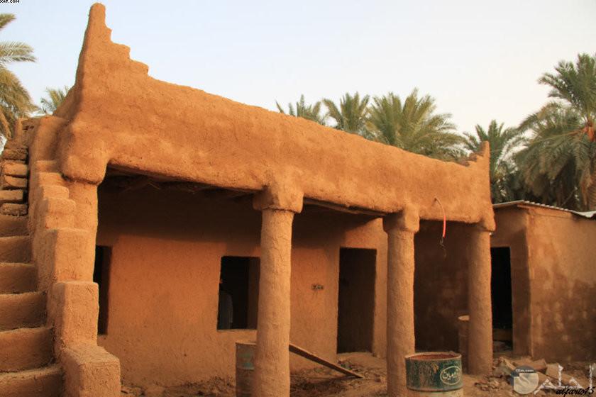 صورة رائعة لبيوت الطين