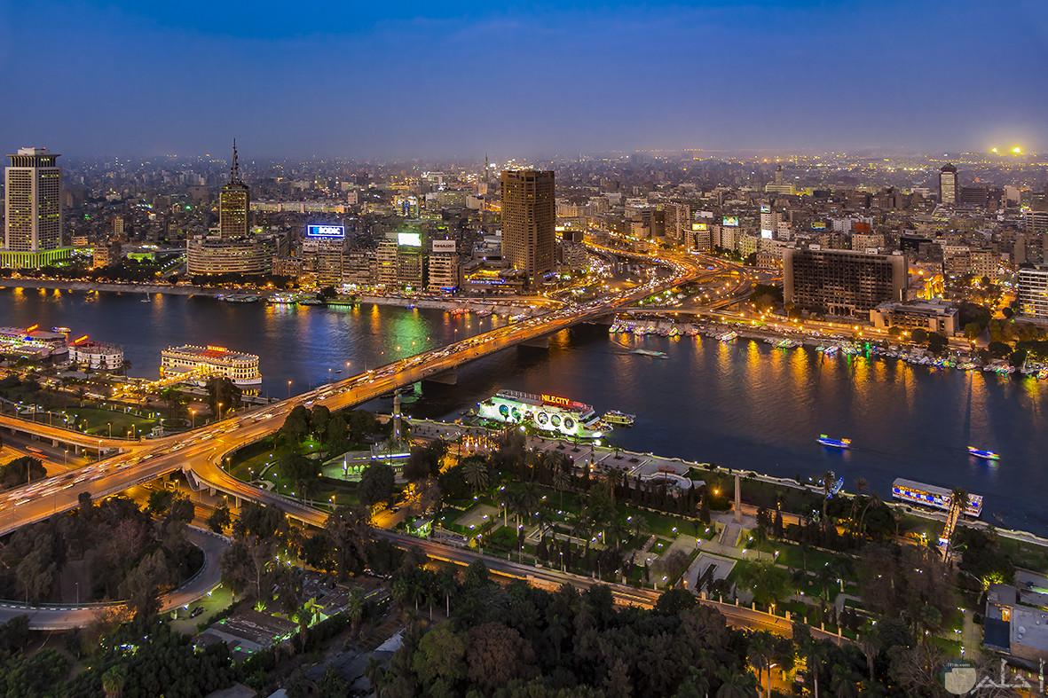 مدينة القاهرة عاصمة مصر.