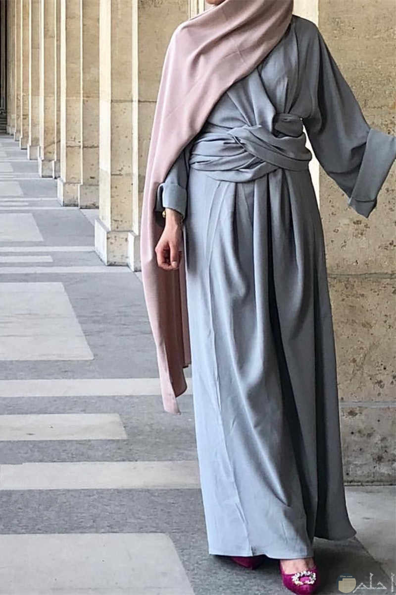 فستان شيك ورائع للمحجبات