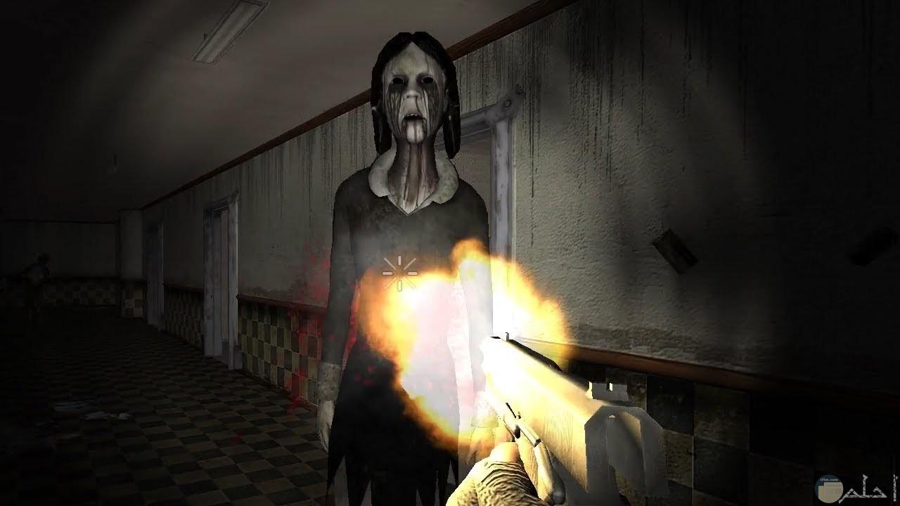 مشاهد مخيفة لعفاريت و أشباح إناث.