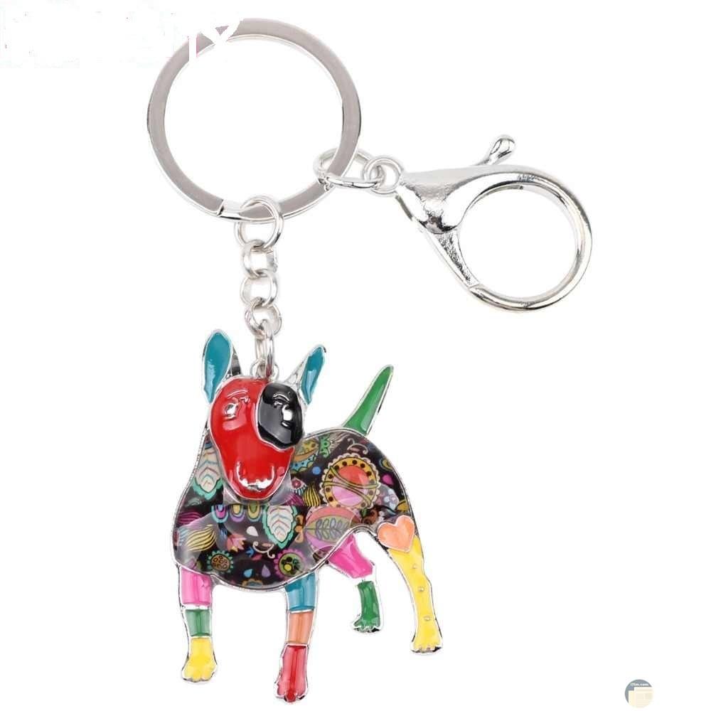 ماديلية - جامع مفاتيح على شكل كلب.