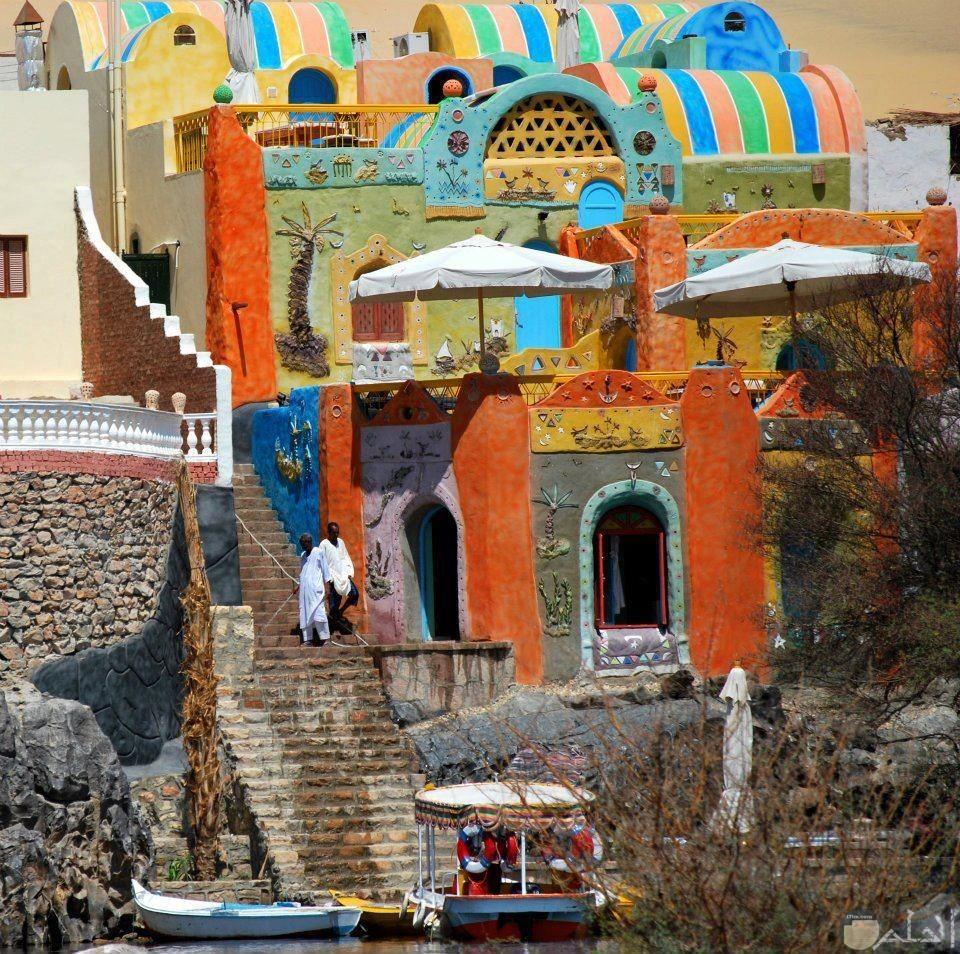 بيوت النوبة - جنوب مصر.