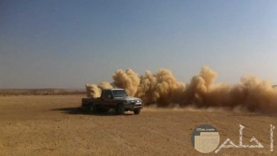 تفحيط على رمال الصحراء في سيناء - مصر.