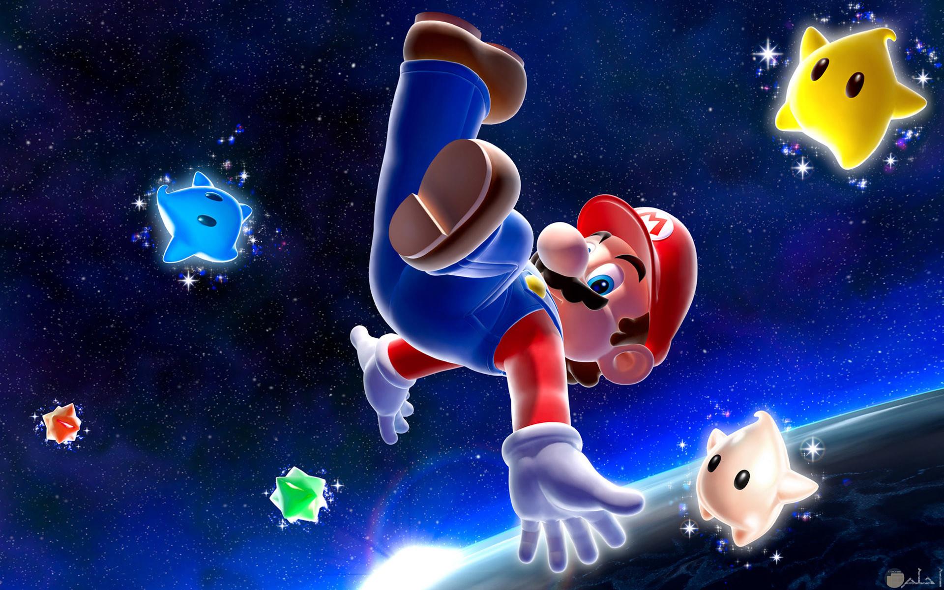 سوبر ماريو في الفضاء