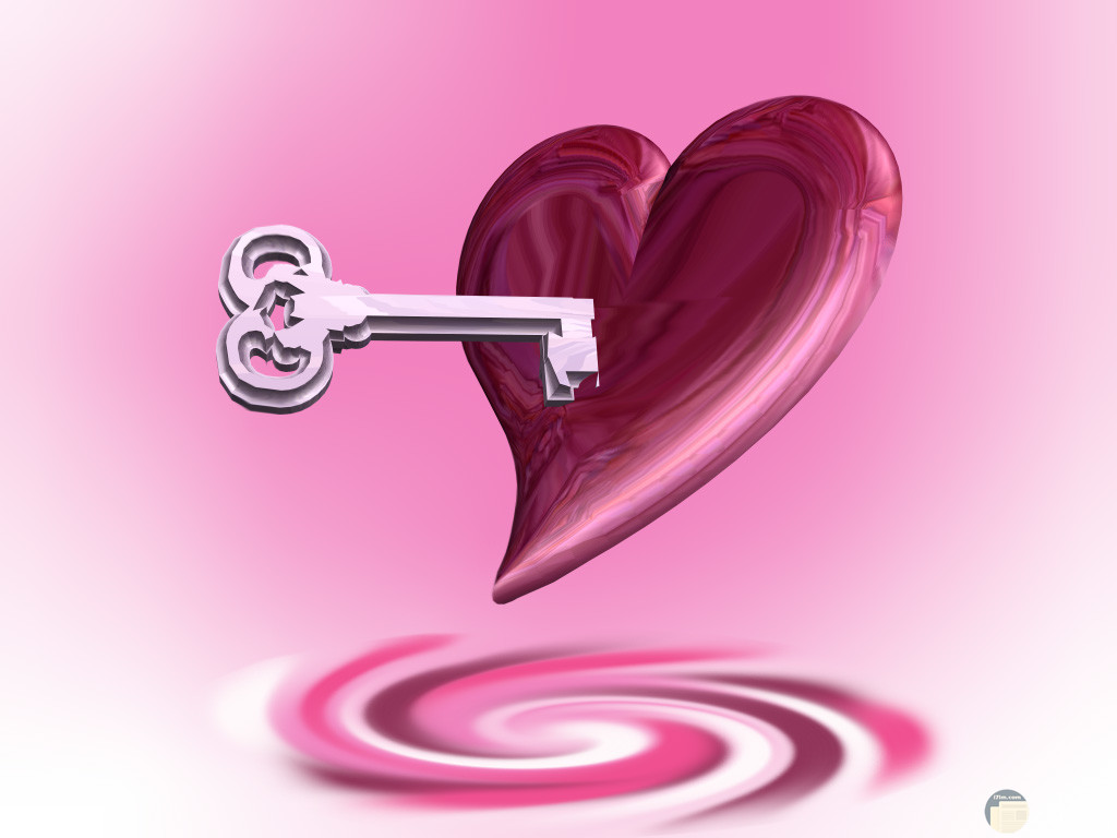 قلبي و مفتاحه كله لك.