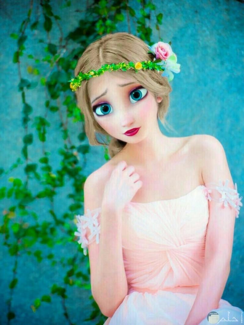 بنت أنمي - أميرة ديزني