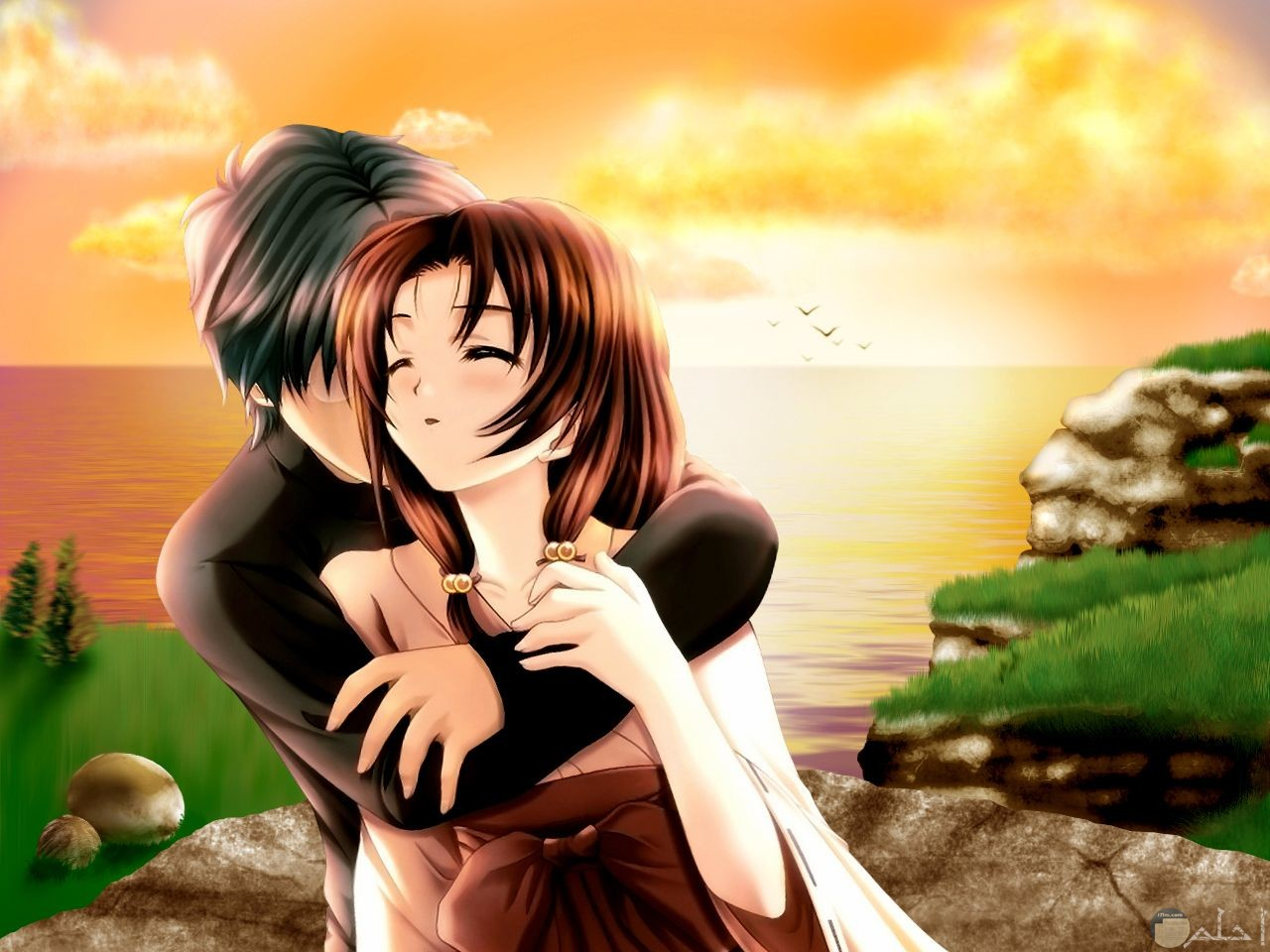 رسومات رومانسية جميلة.