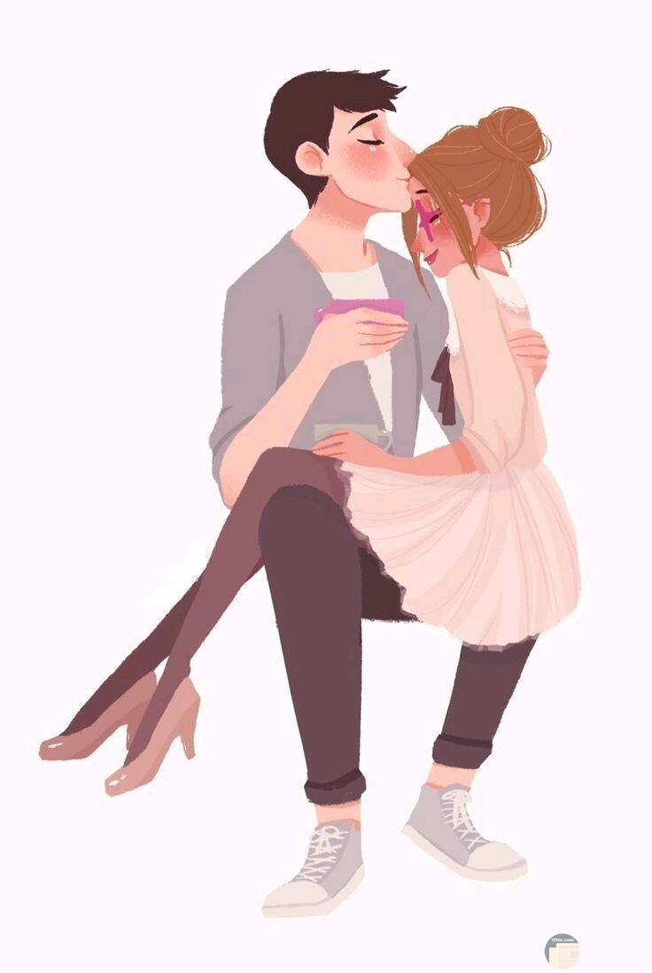 قد تعبر القبلة أحياناً عن مدى الحب و الأحترام.