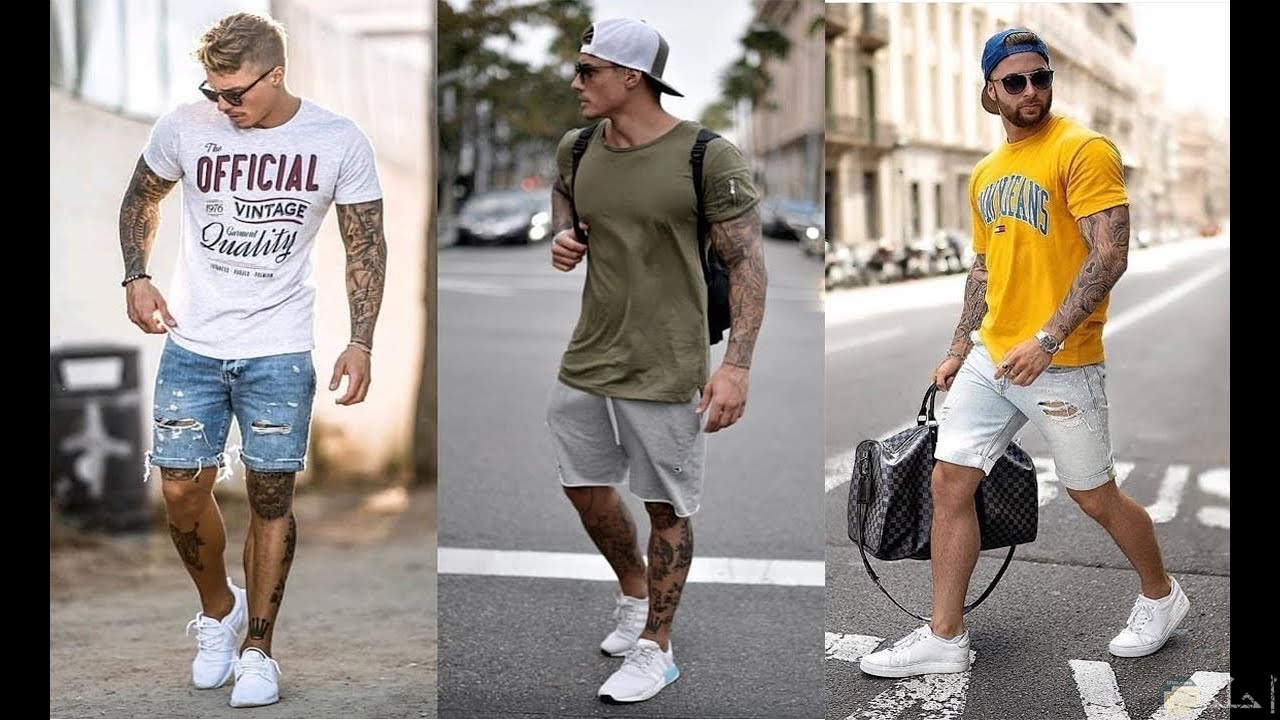 3 شباب يرتدون ملابس كجول مختلفة