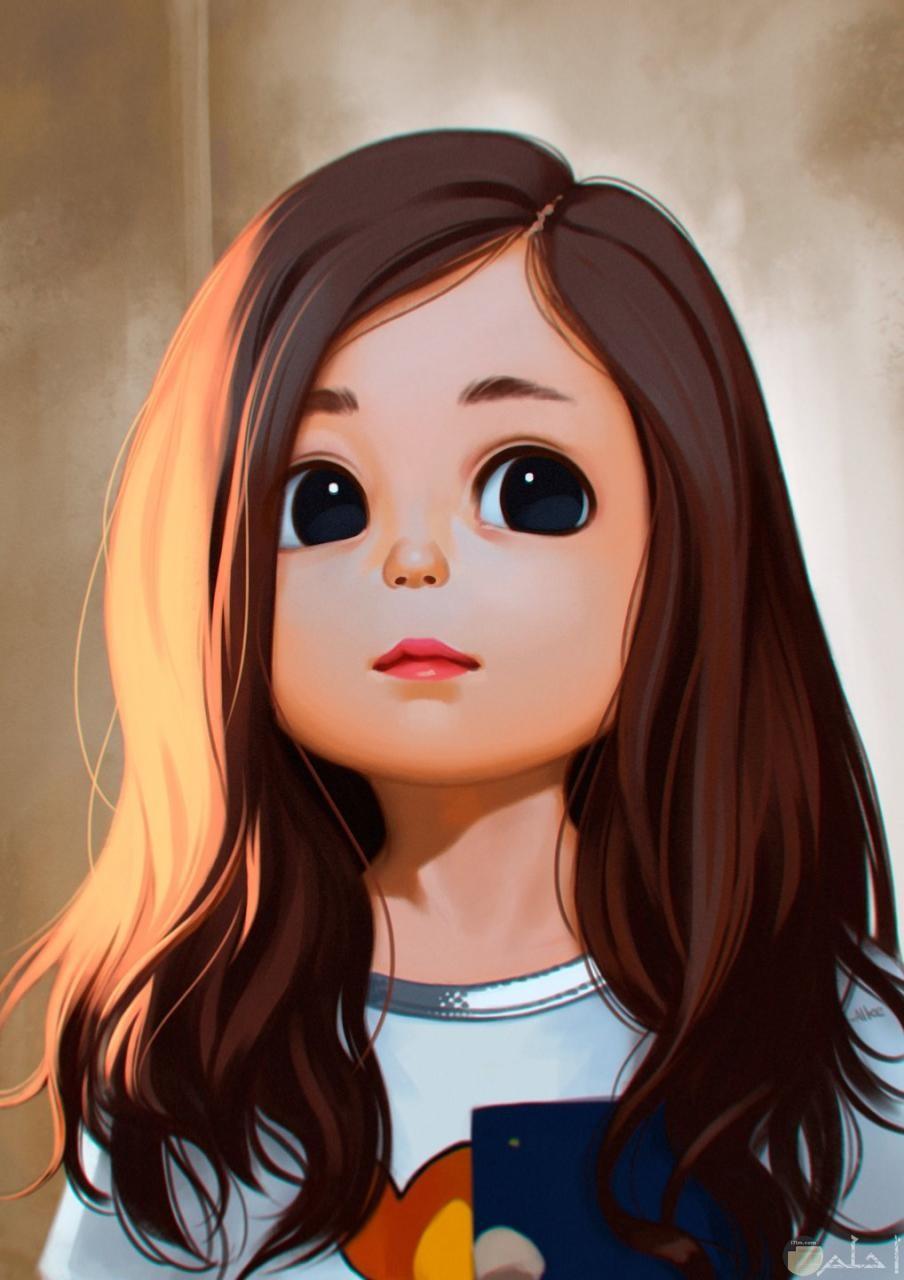 براءة طفلة جميلة