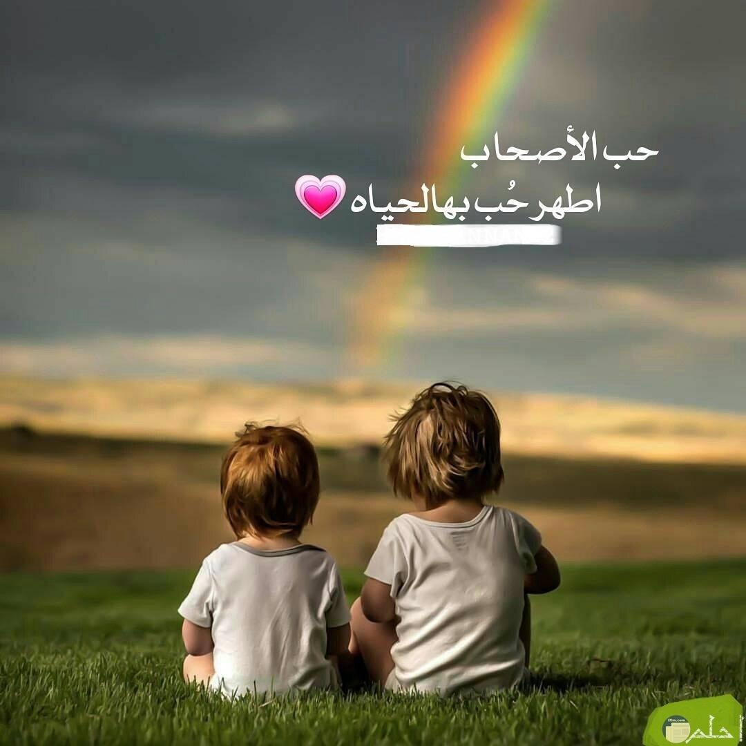 الصداقة و الحب الطاهر.