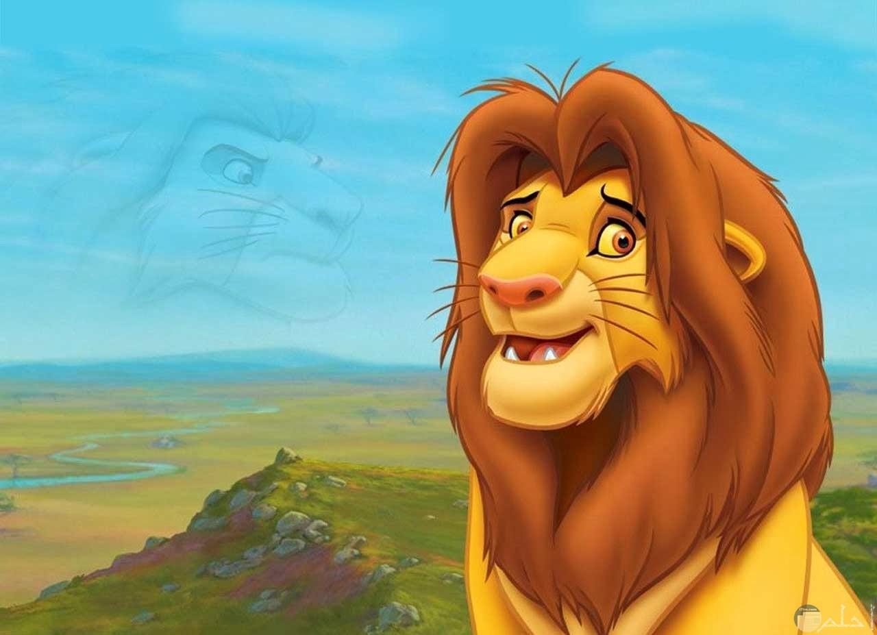 سيمبى - الملك أسد.