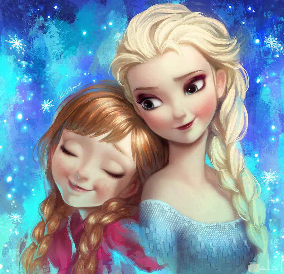 أميرة الثلج و أختها.