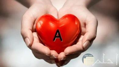 قلب عليه حرف a