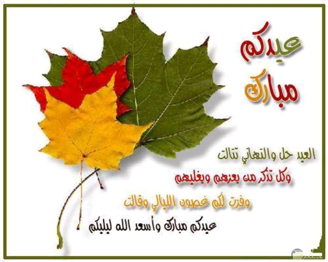 عيدكم مبارك - عيد الاضحى.