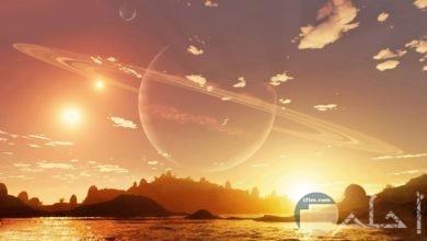 أجمل اللحظات فى شروق الشمس.
