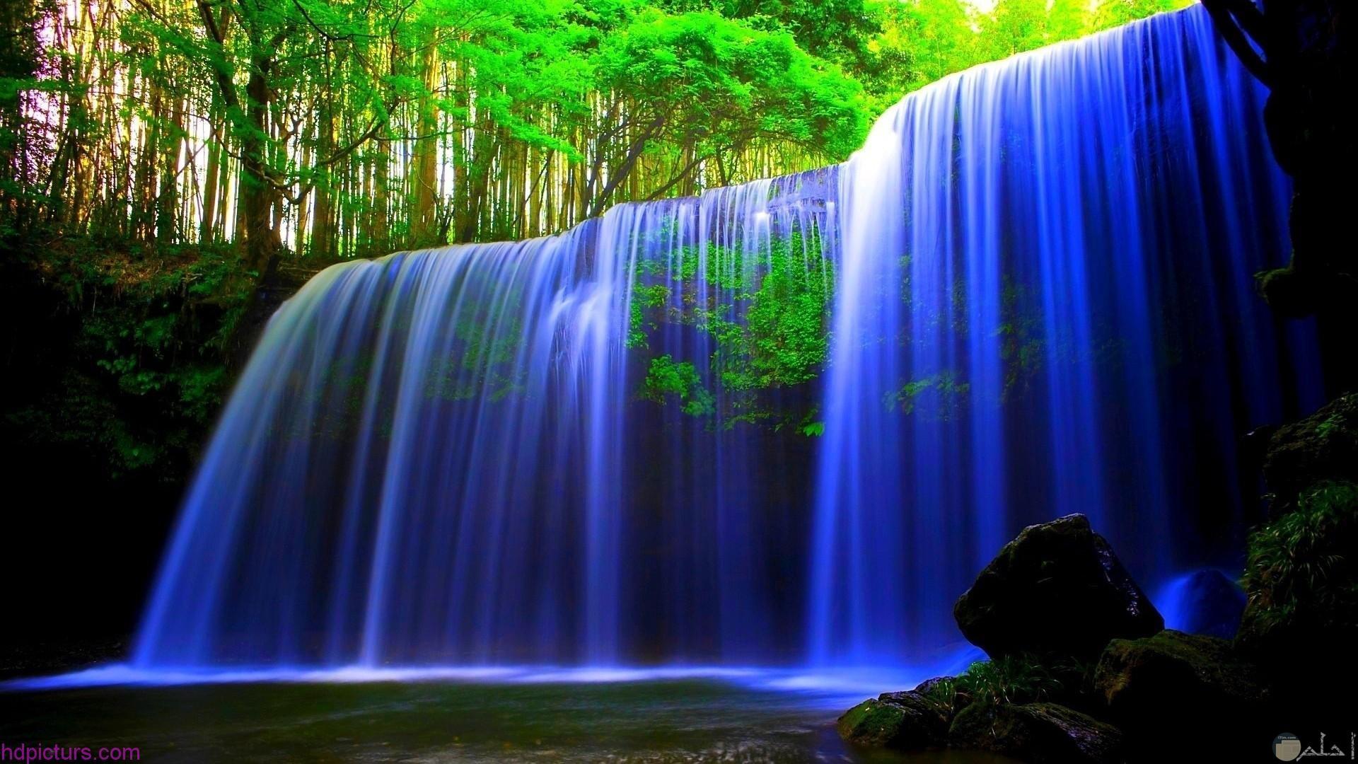 جمال الشلالات و الطبيعة.