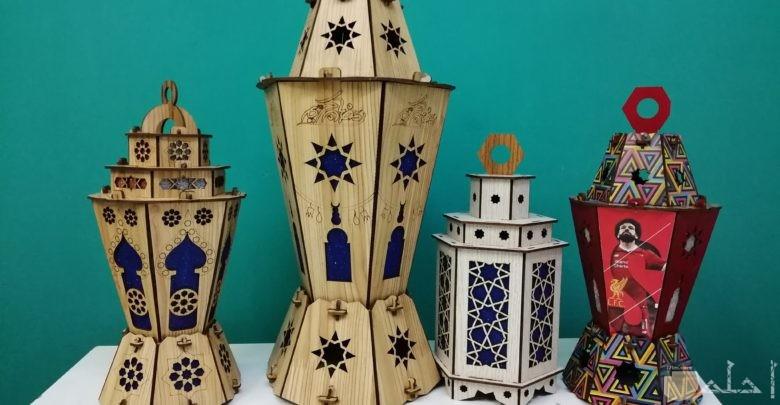 التراث فى فوانيس رمضان.