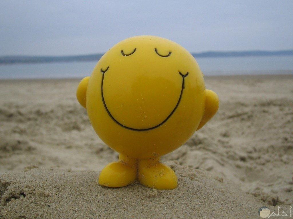 الابتسامة نفسها.