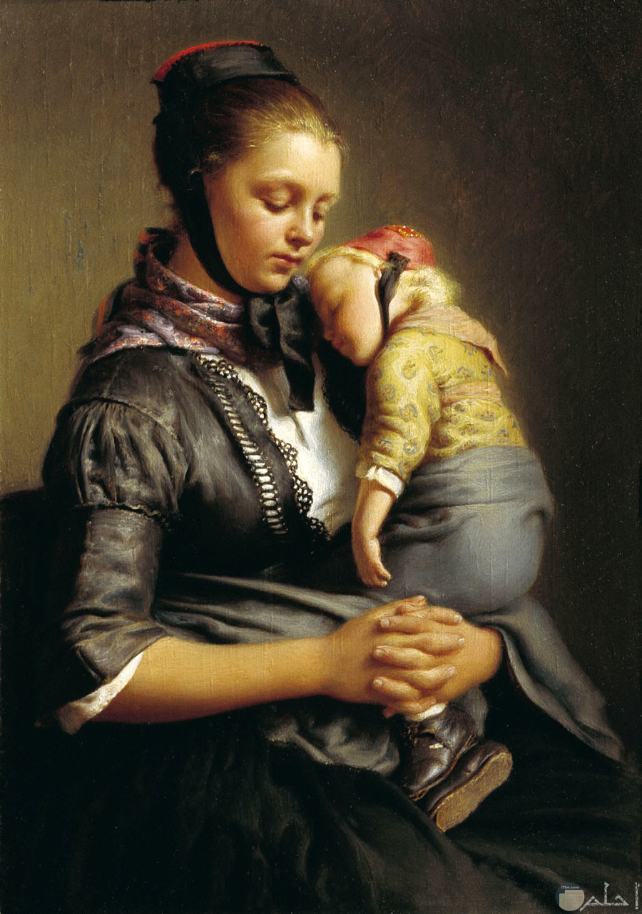 الأمومة و الحنان.