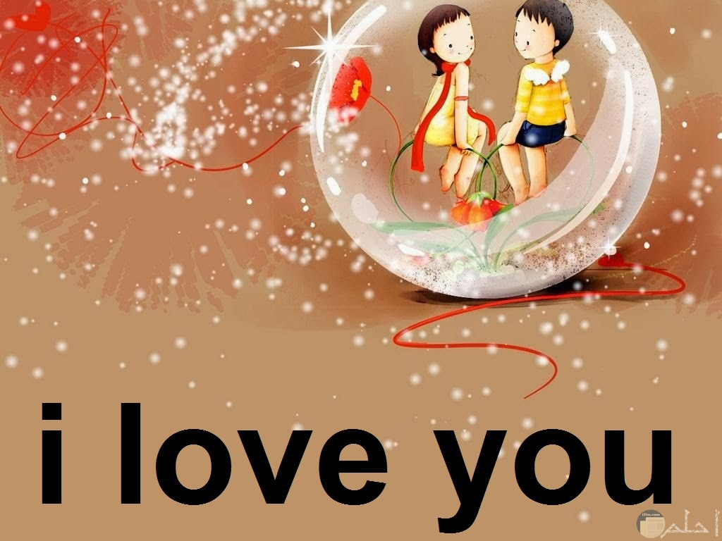 رسمة معبرة عن الحب و الرومانسية الراقية.
