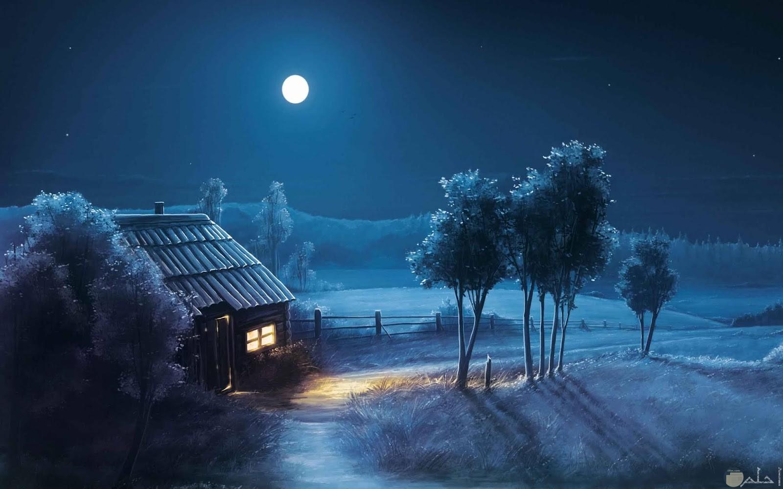 اجواء الليل المميزة.