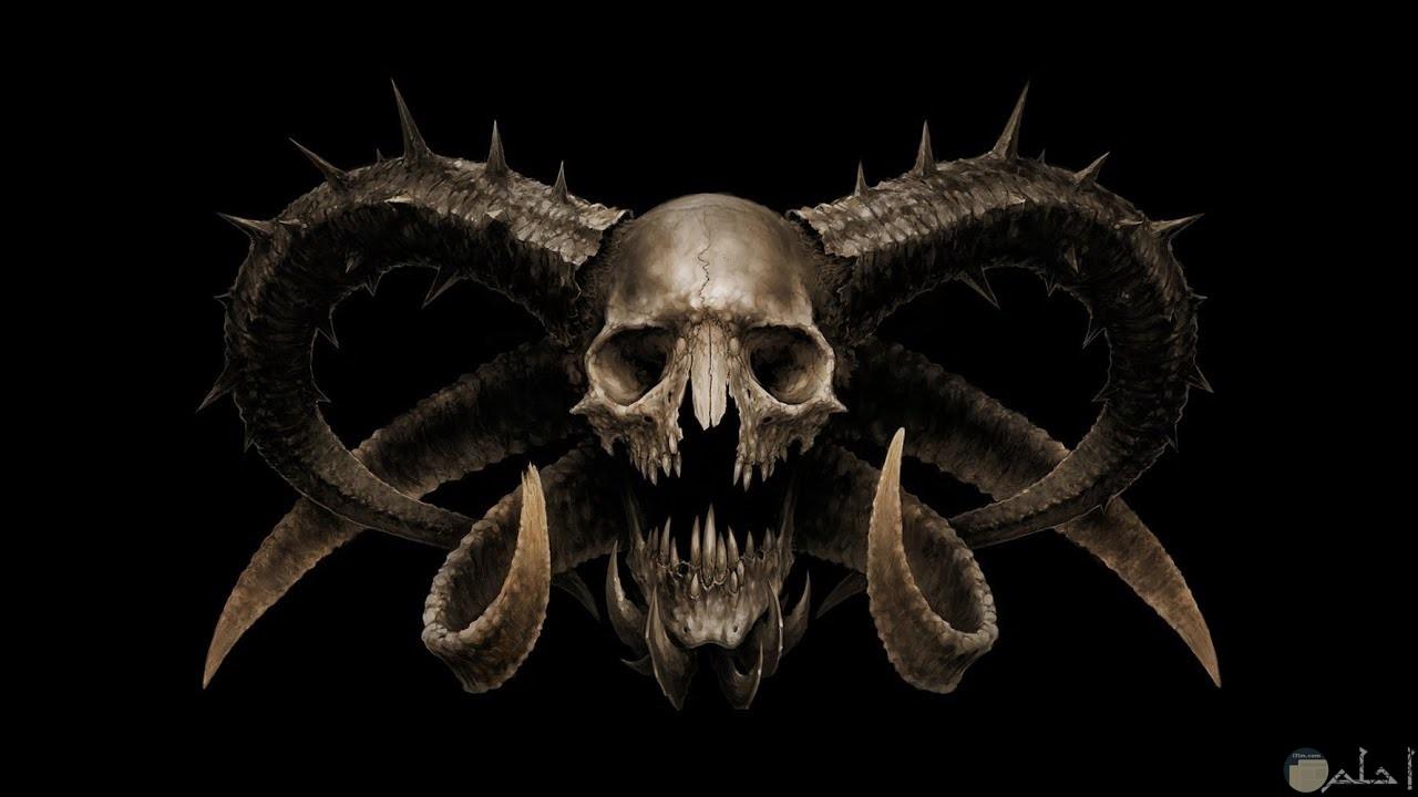جمجمة الشيطان.
