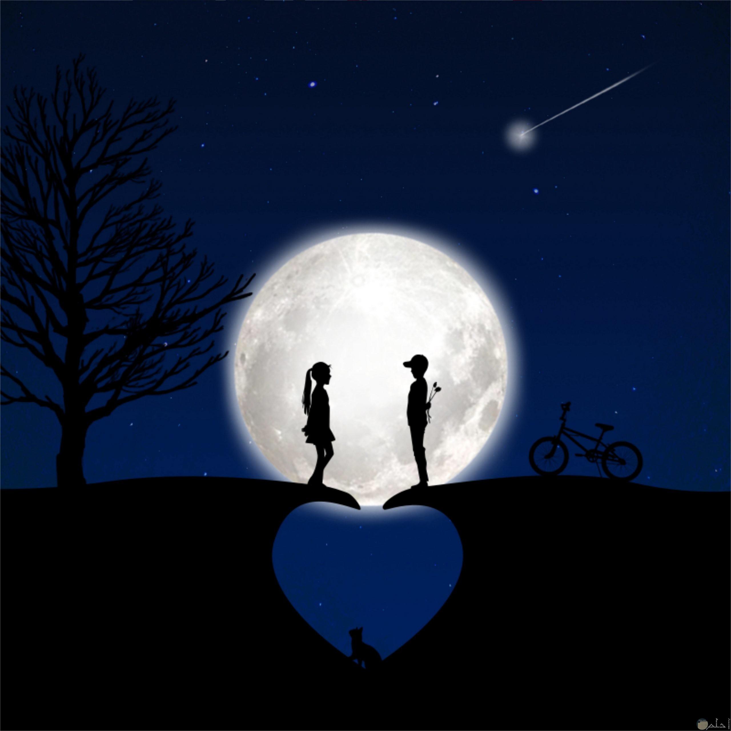 الحب كالخيال لا حدود له.