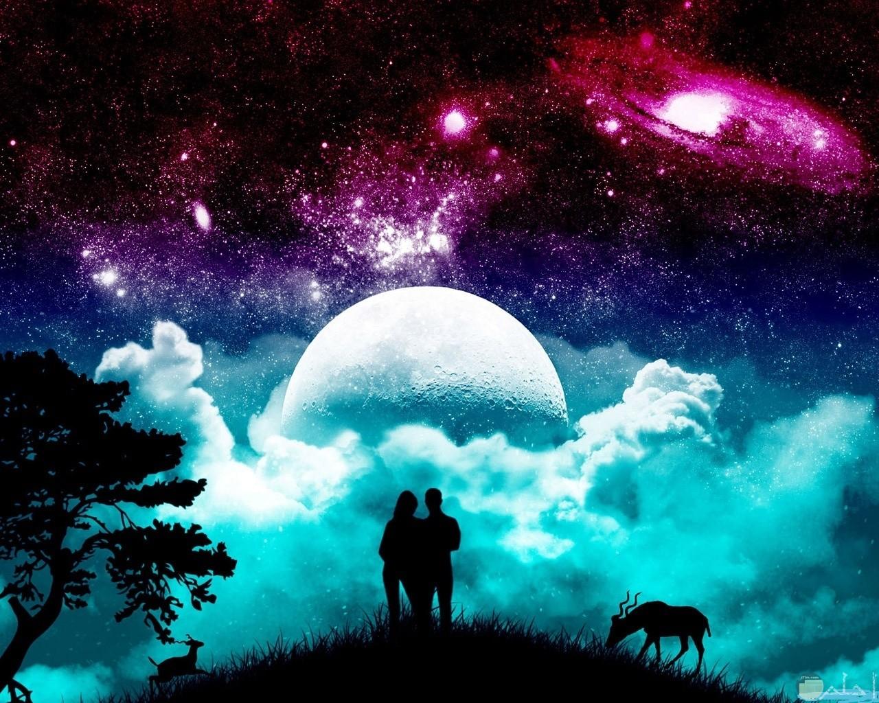 الخيال الرومانسي الجميل.