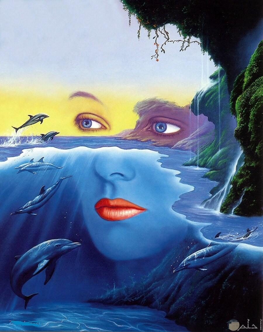 عندما يندمج الخيال مع الطبيعة.