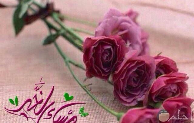 باقة من الورد الجميل مكتوب بجوارها مساء الخير.