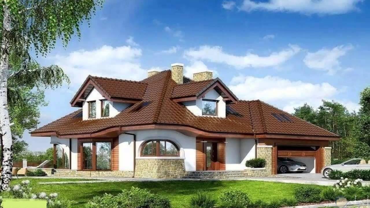 منزل ذو طراز خاص.