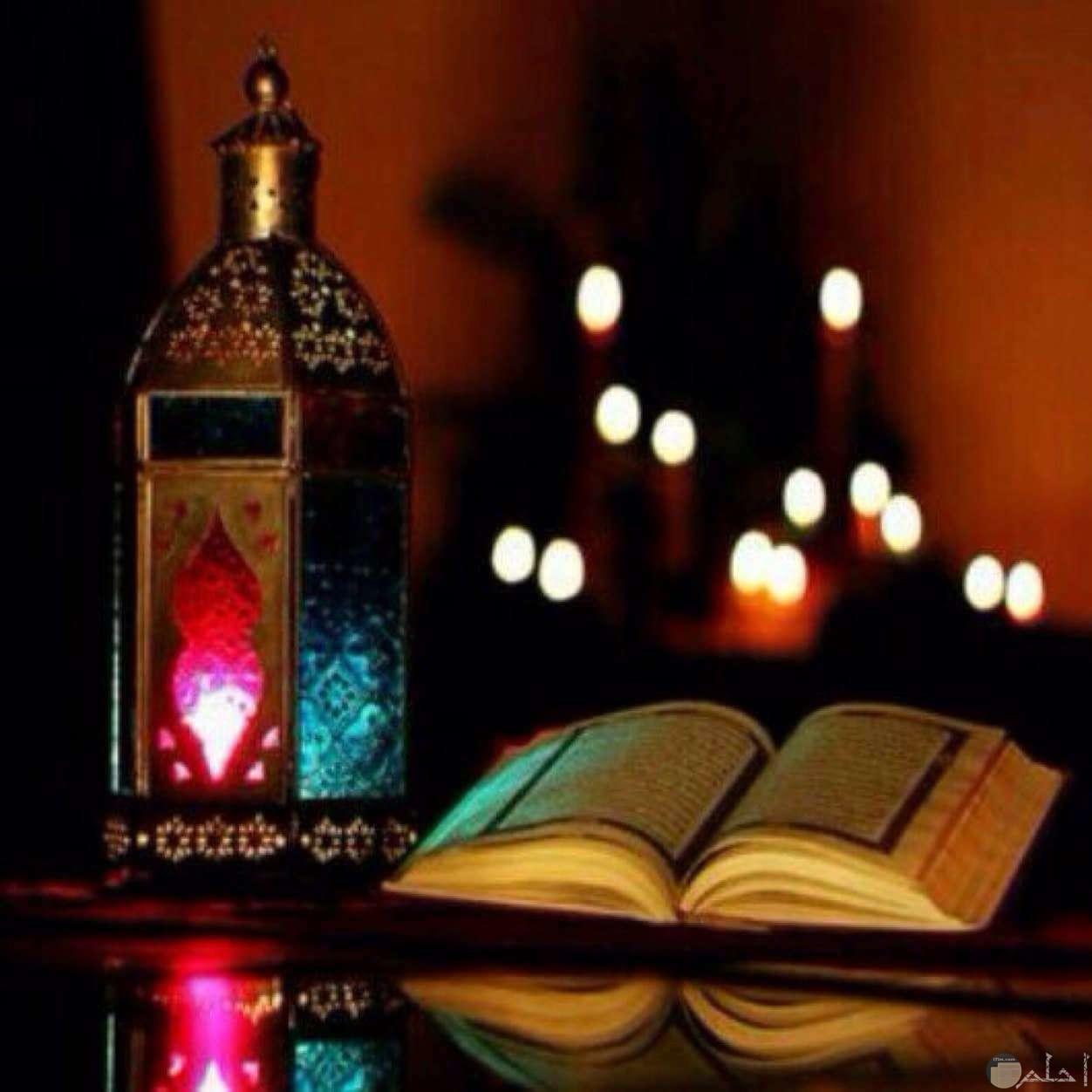 رمضان شهر القرآن.